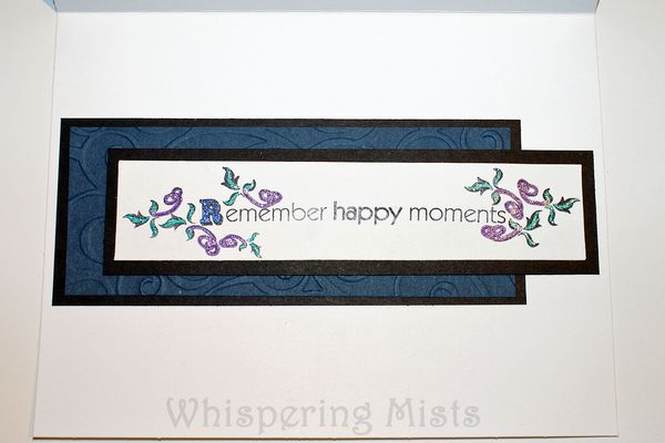 Wedding Card - Inside