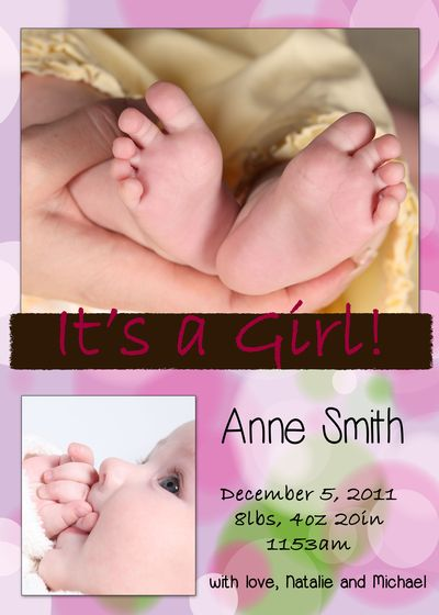 Girl Announcement 4