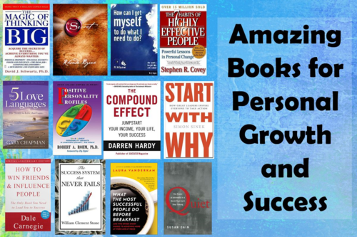 Amazing Books for Personal Growth